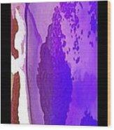 Fluidity B 5 Wood Print