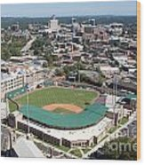 Fluor Field At The West End Greenville Wood Print