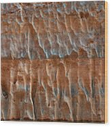 Fluted Wall Wood Print