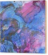 Flutter By 2 Wood Print by Debi Starr