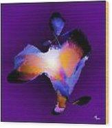 Flutters 2 Wood Print