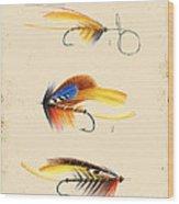 Fly Fishing-jp2094 Wood Print