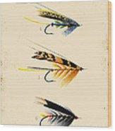 Fly Fishing-jp2095 Wood Print