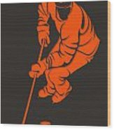 Flyers Shadow Player3 Wood Print