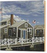 Flying Backwards-nantucket Massachusetts Series 05 Wood Print