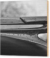 Flying Cadillac  Wood Print