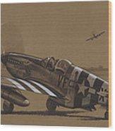 Flying Dutchman Wood Print by Wade Meyers