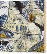 Flying Fish No. 3 - Study No. 2 Wood Print