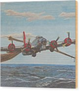 Coming Home - Boeing B-17 Flying Fortress Wood Print