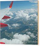 Flying High 3 Wood Print