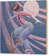 Flying High Wood Print