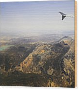 Flying Over Spanish Land I Wood Print