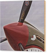 Flying Tiger P-40 Wood Print