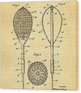 Flynn Merion Golf Club Wicker Baskets Patent Art 1916 Wood Print