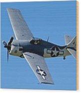 Fm-2 Flyby Wood Print
