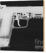 Fn 57 Reverse Wood Print