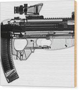 Fn Fs 2000 X-ray Photograph Wood Print