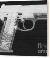 Fn P9 Reverse Wood Print