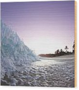 Foam Wall Wood Print