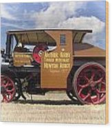 Foden Tractor Wood Print