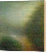 Fog #3 - Silent Words Wood Print