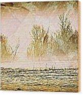 Fog Abstract 5 Wood Print