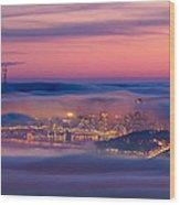 Fog City - San Francisco Wood Print