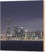 Fog City San Francisco Wood Print