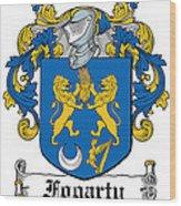 Fogarty Coat Of Arms Irish Wood Print