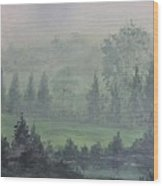 Foggy Bottom Tennessee Wood Print