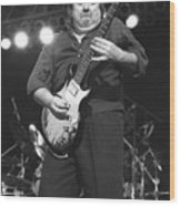 Foghat Guitarist Rod Price Wood Print