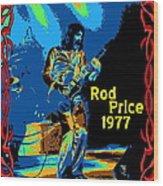 Foghat In Spokane 1977 Wood Print