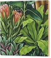 Foliage IIi Wood Print