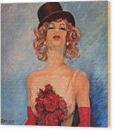Folies Bergere Paris Wood Print