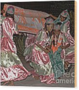 folk dance group from Madagascar 2 Wood Print
