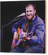 Folk Musician David Bazan In Concert Wood Print