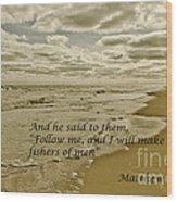 Follow Me Wood Print by Debra Johnson