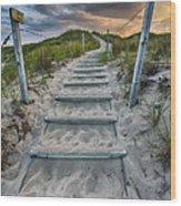 Follow The Path Wood Print