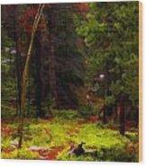 Follow The Trail Wood Print
