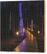 Follow The Yellow Brick Road Wood Print