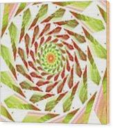Abstract Swirls  Wood Print