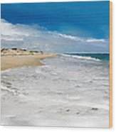 Folly Beach Scenic Walk Wood Print