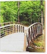 Folsom Bridge 2 Wood Print