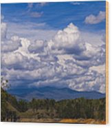 Fontana Lake Storm 2 Wood Print