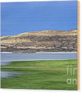 Fontenelle Reservoir Summer Thunderstorm  Wood Print