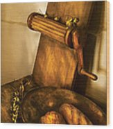 Food -  Bread  Wood Print