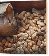 Food - Peanuts  Wood Print