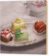 Food - Sweet - Cake - Grandma's Treats  Wood Print