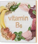 Foods Rich In Vitamin B6 (pyridoxine) Art Print