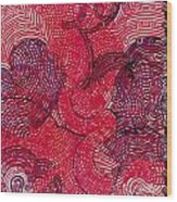 Fools Paradise Wood Print